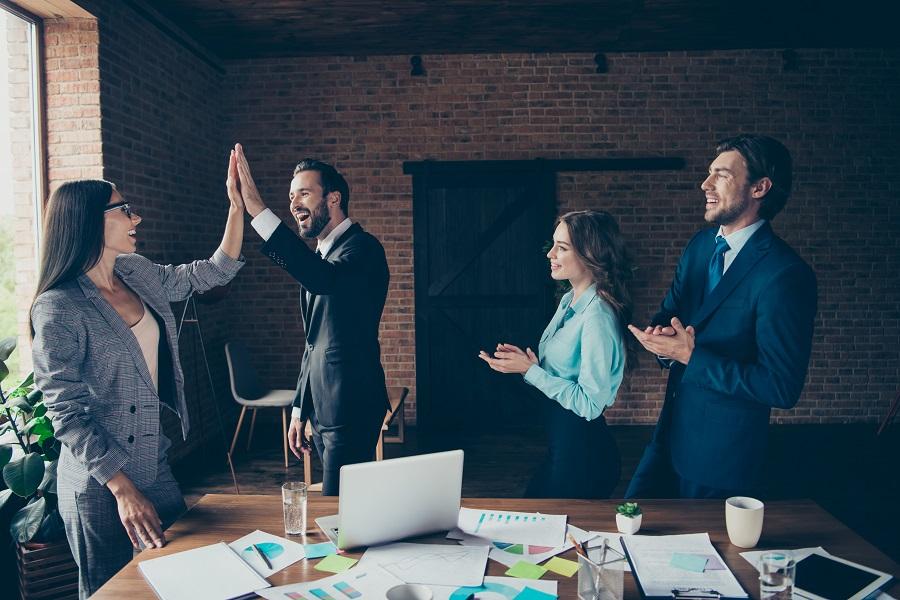 上司と部下の関係が良好な組織